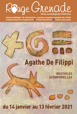 Exposition Agathe De Filippi, peintures