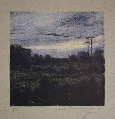 Claude Francheteau - Lithographie