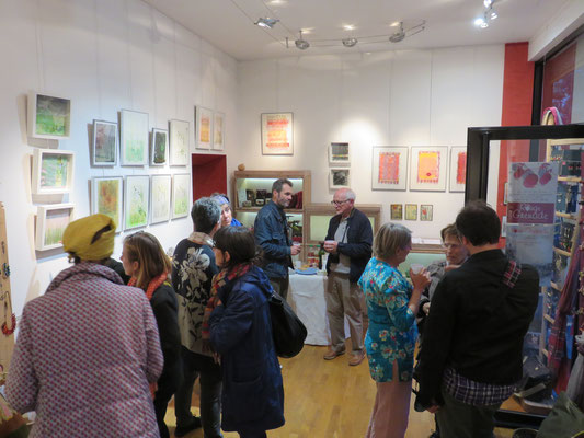 Vernissage de l'exposition Dominique Berteletti, vendredi 15 septembre 2017- boutique Rouge Grenade