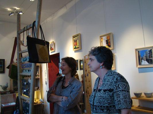 Vernissage - Françoise et Sylvie