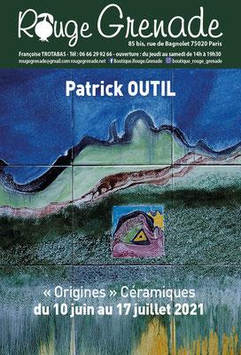 """Exposition de Patrick Outil - Céramiques """"Origines"""""""