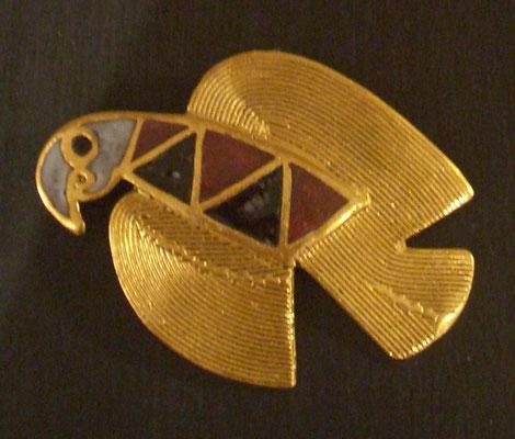 Elisabeth Riveiro - broche - bronze doré