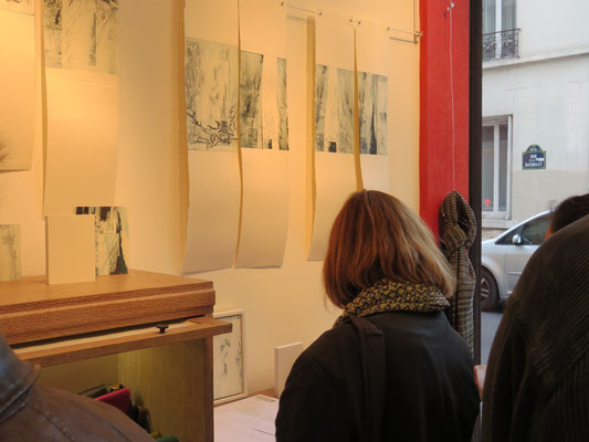 Vernissage exposition Traces et Variations - Marie-Clémentine Marès