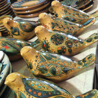 Atelier  de Darya Alishah - les oiseaux -