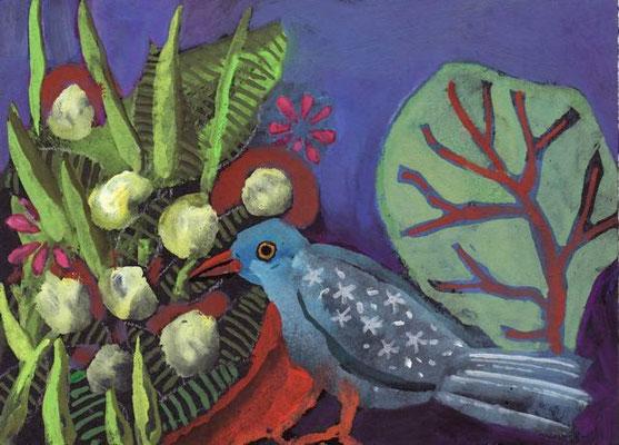 Agnes Robin - peinture -13x18cm
