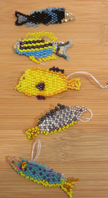 Broches poissons de Florence Tissot