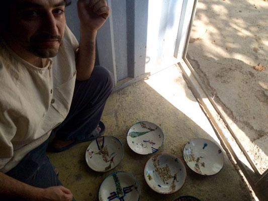 Sadr, artiste céramiste