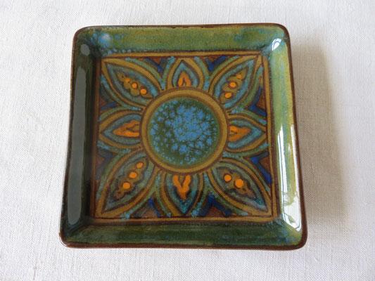 Darya Alishah- céramique - assiette carrée