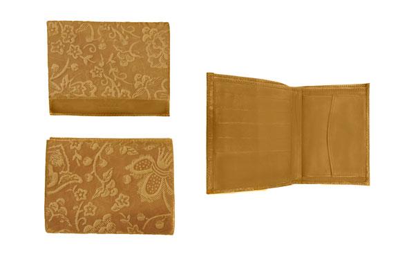 Kasser- porte monnaie , porte feuille - cuir de vachette