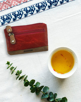 Kasser- porte monnaie - cuir de vachette