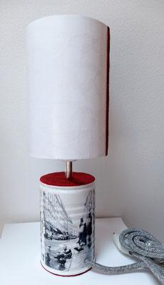 Isabelle Malet - lampe Paris en boite -