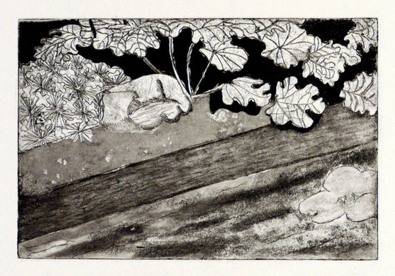 Constance des Mazery - gravure