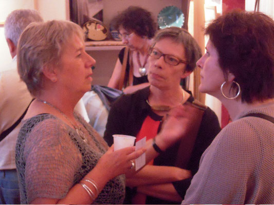 Vernissage -  Christel et  Christine