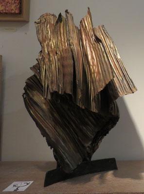 Denise Eisler - sculpture métal