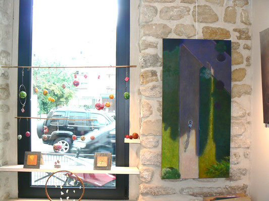Mobile F trotabas - peinture M.Najand