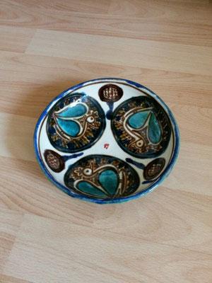 Nazhoo- céramique - coupe aux oiseaux