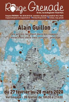 Exposition Alain Guillon, peintures
