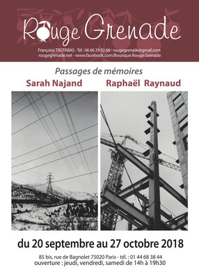 Expostion Raphaël Raynaud et Sarah Najand - photographies argentiques