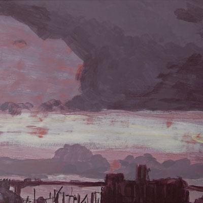 Claude Francheteau - peinture - 20x20cm- 2016