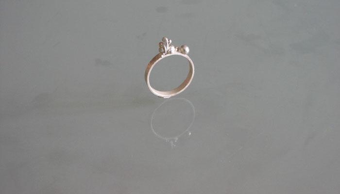 Nenuphar bijoux - bague - argent