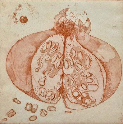 Christel Claudius - gravure