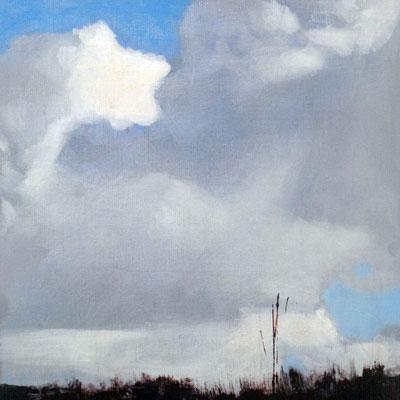 Claude Francheteau - peinture - 30x30cm- 2014