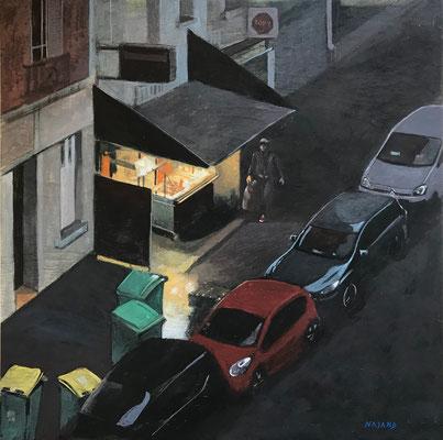 Mehrzad Najand - Peintres - acrylique - 30x30cm -2020