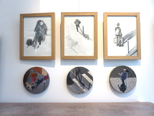 Peinture et dessins de  Mehrzad Najand