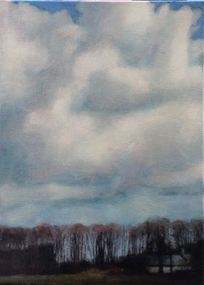 Claude Francheteau - peinture - 24x30cm- 2013