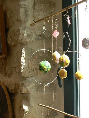 Mobiles/ citrons F.trotabas