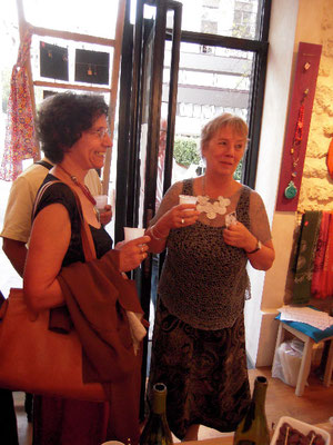 Vernissage - Christel et  Michelle
