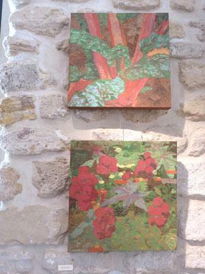 Maryam Sadet : peintures - 40x40cm