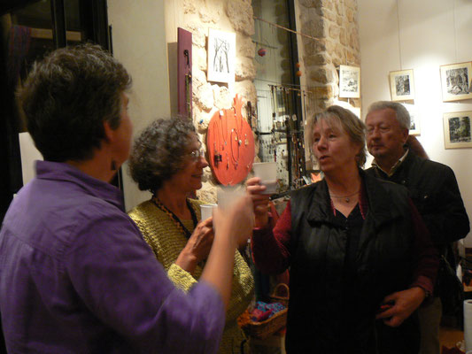 Vernissage Michelle Boucard