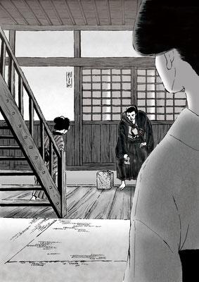 「美男の医者」挿絵