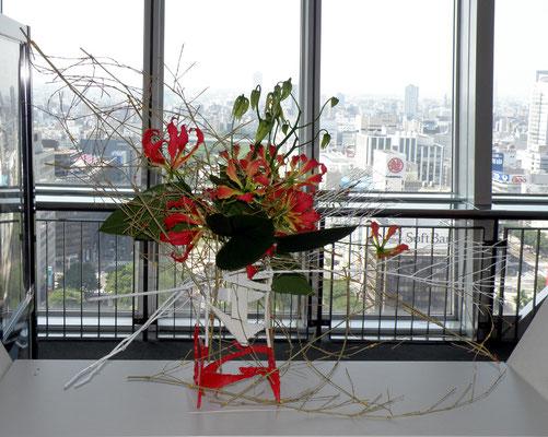 廣瀬社中「ASEAN友好文化交流展」7月6日、7日 名古屋テレビ塔 山本実夕希