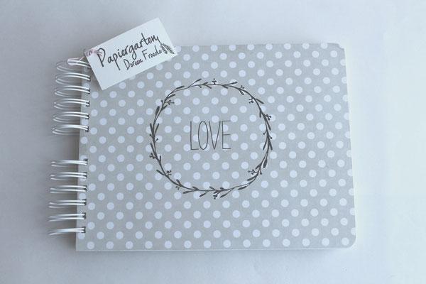 Handgefertigtes Gästebuch / Fotoalbum Spiralalbum