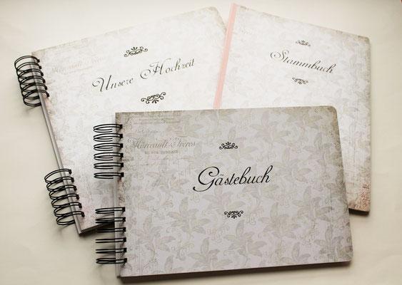 Gästebuch Fotoalbum Stammbuch Hochzeit Wedding