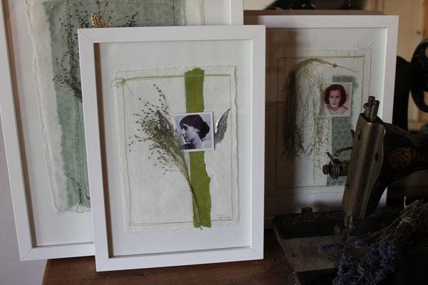 Woman Collage / Einzelstück, Berühmte Frauen, Collage, handgefertigt, Natur, Papiercollage, Frauencollage, Bild, Naturpapier, Dekoration für die Wand, Wanddekoration,