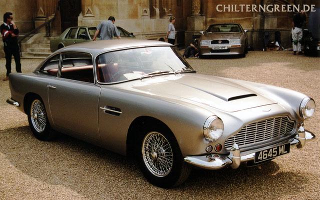 Aston Martin DB4 Saloon Serie 4 (1961 - 1962)