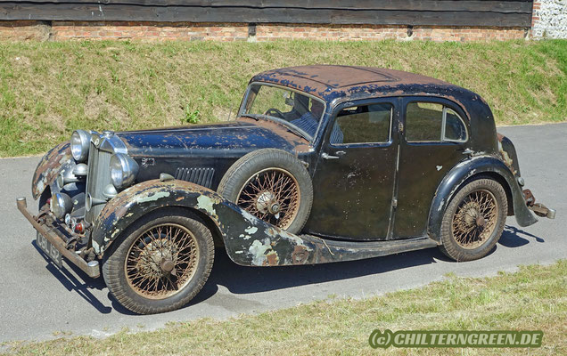 MG VA (1937) - Last car of Cecil Kimber