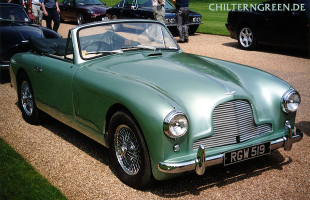 Aston Martin DB2/4 Drophead Coupé (1953 - 1955)