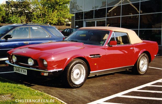 Aston Martin V8 Vantage Volante PoW (1984 - 1989)