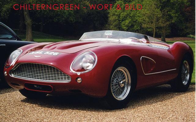 """Aston Martin DB4GT Zagato """"Barchetta"""" (Replica) 2000"""