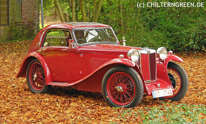 MG PB (Midget) Airline Coupé (1935 - 1936)