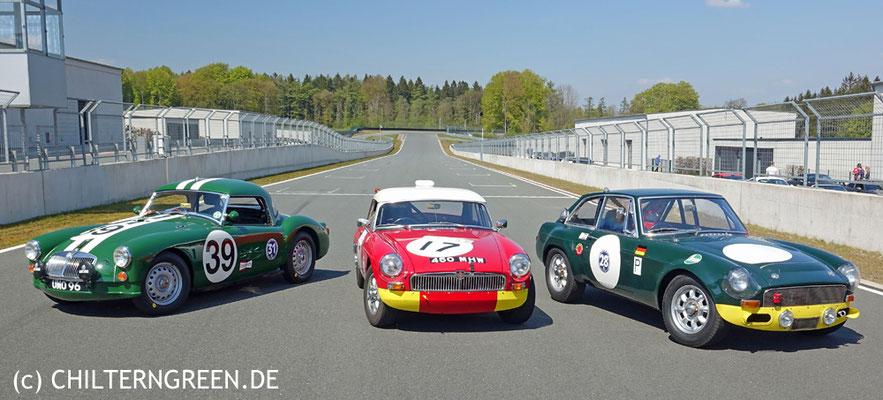 Racing MGA, -B & -C