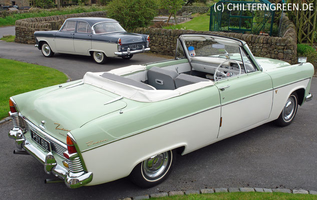 Ford Zephyr Mk II Convertible (1956 - 1961)