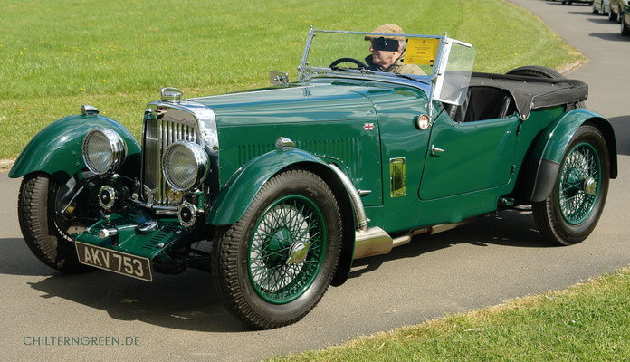 Aston Martin 1.5-litre (Series 3) Mark II 2/4-seater 1935