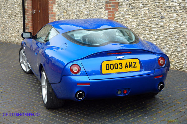 Aston Martin DB7 Zagato (2002 - 2003)