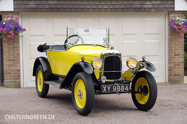 "Citroën 5 Type C 5 CV ""Cloverleaf"" (1922 - 1925)"