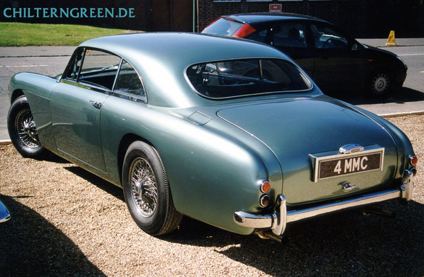 "Aston Martin ""Design Project 114/2""- der ""Feeley""-DB4-Prototyp 1956"